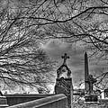 Eerie Graveyard by Jennifer Ancker