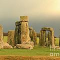 Eerie Stonehenge 2 by Deborah Smolinske