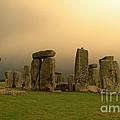 Eerie Stonehenge by Deborah Smolinske