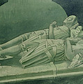Effigies, Winchelsea Church by Osmund Caine