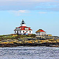 Egg Rock Lighthouse by Jack Schultz