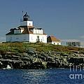 Egg Rock Lighthouse by Kathleen Struckle