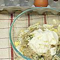 Egg Salad Ingredients by Lee Serenethos