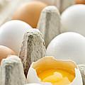 Eggs In Box by Elena Elisseeva