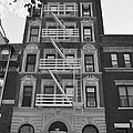 Egress Building In Black And White by Rob Hans