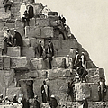 Egypt: Pyramid Tourists by Granger