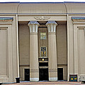 Egyptian Building On Vcu Campus - Richmond Virginia by Brendan Reals