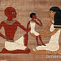 Egyptian Family by Pet Serrano
