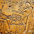 Egyptian Hieroglyphics by Phill Petrovic