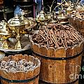 Egyptian Market Stall by Sophie McAulay