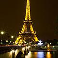 Eiffel At Night by David Freuthal