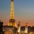 Eiffel At Twilight by Brian Jannsen