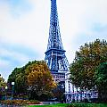 Eiffel In Autumn by Remi D Photography