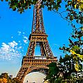 Eiffel In Green by Remi D Photography