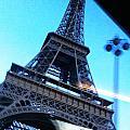 Eiffel In Motion by Kathy Corday
