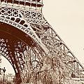 Eiffel In Sepia by Timothy Hacker