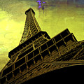 Eiffel In The Spring by Evie Carrier