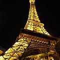 Eiffel Night by David Bearden
