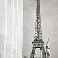 Eiffel Tour Paris Black And White by For Ninety One Days