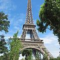 Eiffel Tower - 1 by Pema Hou