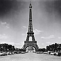 Eiffel Tower And Park 1909 by Mountain Dreams