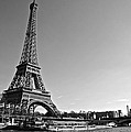 Eiffel Tower And The Seine by Galexa Ch