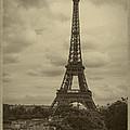 Eiffel Tower by Debra and Dave Vanderlaan
