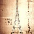 Eiffel Tower Design by Bill Cannon
