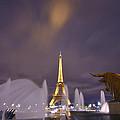 Eiffel Tower Dream by Midori Chan