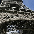 Eiffel Tower First Balcony by Gary Lobdell