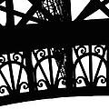 Eiffel Tower Girders by Mary Bedy