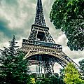 Eiffel Tower In Hdr by Amel Dizdarevic