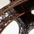 Eiffel Tower Left Leg by Remi D Photography