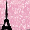 Eiffel Tower - Love In Paris by Marianna Mills