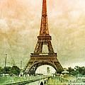 Eiffel Tower Mood by Carol Groenen