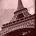 Eiffel Tower - Old Style by Patricia Awapara