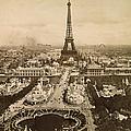 Eiffel Tower, Paris, 1900 by Granger