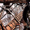 Eiffel Tower Paris France Close Up by Patricia Awapara