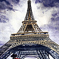 Eiffel Tower Paris by Irina Sztukowski