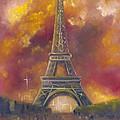 Eiffel Tower  by Stephanie Broker