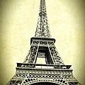 Mighty Eiffel Tower by Carol Groenen