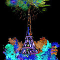 Eiffel Tower Topiary by Paula Ayers