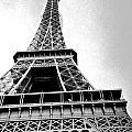 Eiffel Tower Up Close 3 by Bobby Uzdavines