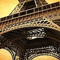Eiffel Tower - Vintage by Carol Groenen