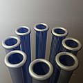 Eight Metallic Tubes by Phil Perkins