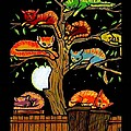 Eight Tree Cats by Jim Harris