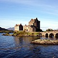 Eilean Donan Castle Kintail Scotland by Rodger Insh