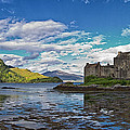 Eilean Donan Castle by David Pringle