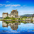 Eilean Donan Castle Reflections 2 by Chris Thaxter