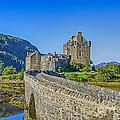 Eilean Donan Castle Walkway by Chris Thaxter